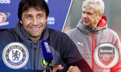 Chelsea boss brutal when asked about thoughts on Wenger and Arsenal
