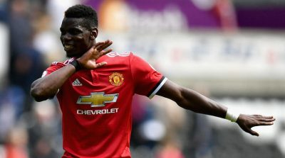 Manchester United To Sweat On Pogba's Hamstring Injury