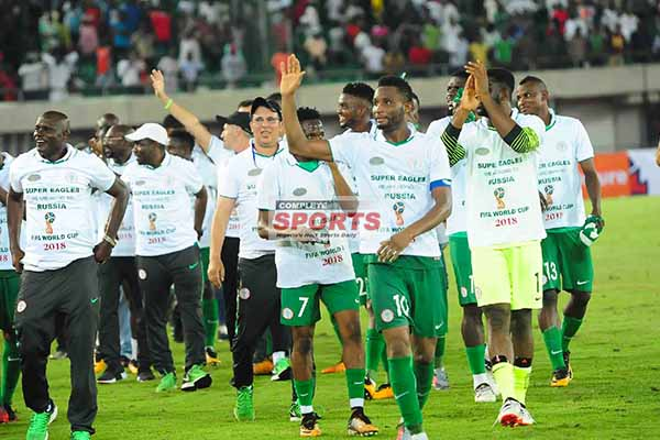 Super Eagles To Pocket N1m Each For Win Vs Zambia