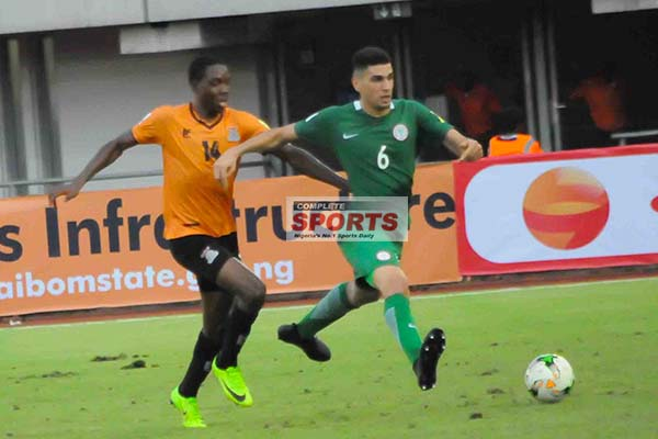 Balogun Relishes Russia 2018 'Big Challenge' After Draw