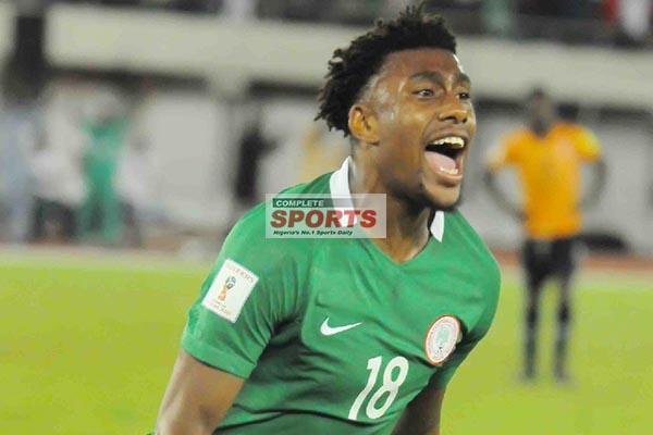 Iwobi: 2018 World Cup Qualification, A Dream Come True 