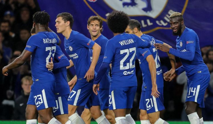 Dzeko Claims Chelsea Good Enough To Win Champions League But Roma Want Round Of 16 Qualification