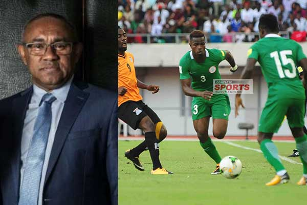 CAF President Ahmad: Super Eagles Africa's Strongest Team To Russia 2018