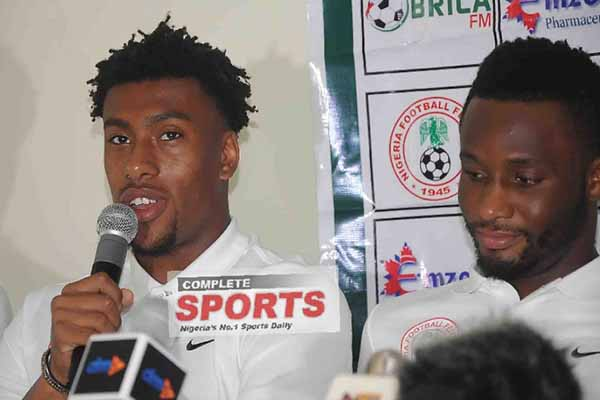 Iwobi: I Care About Eagles Victory Against Zambia, Not  Who  Starts The Game
