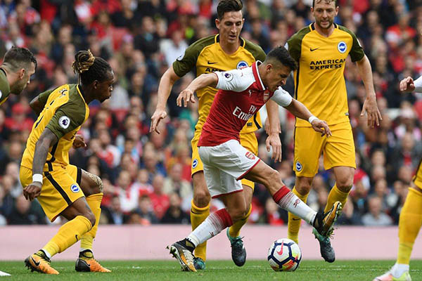Sanchez Beats Monreal, Iwobi To Arsenal's Best Player Award   Vs Brighton