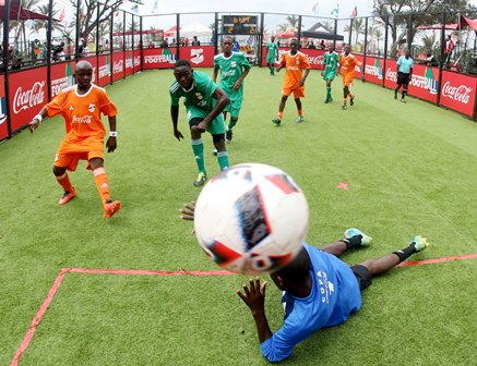 COPA Coca-Cola Global Cup Champion: Nigeria Here To Show Character!