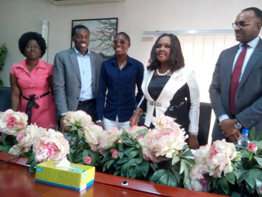 Emzor Brand Ambassador Oshoala Champions Girl-Child Education, Plans Girls Football Competition