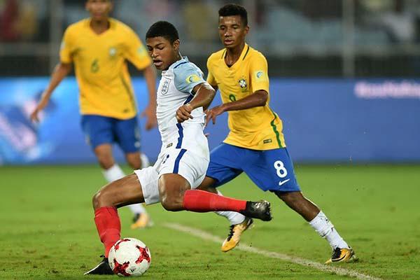 England Stun Brazil To Reach First U-17 World Cup Final