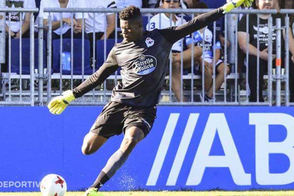 Deportivo Confirm Uzoho's Super Eagles Call-up For Algeria, Argentina Clashes