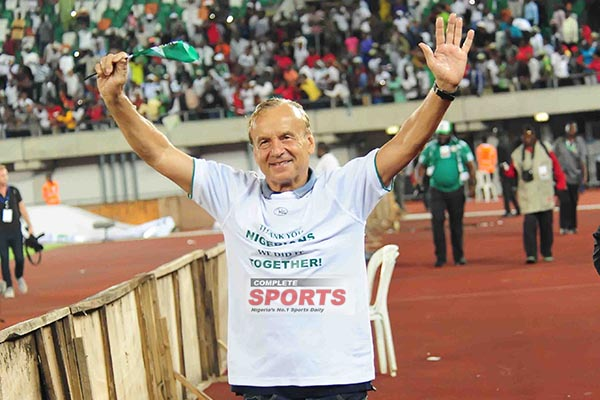 Rohr To Celebrate Christmas With Madagascan Wife, Joins CHAN Eagles January  In Morocco