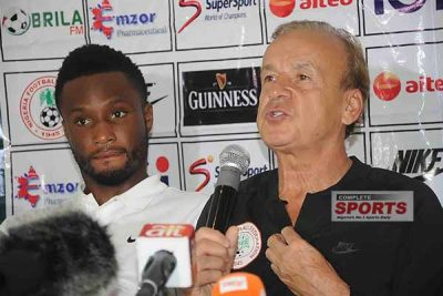 Mikel, Rohr Focus On Unbeaten Run As Super Eagles Face Algeria Tonight