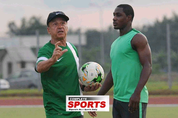 Rohr Retains Super Eagles Vs Cameroon Starting XI For Zambia