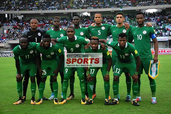 Super Eagles of Nigeria now 51st ranked team in the World