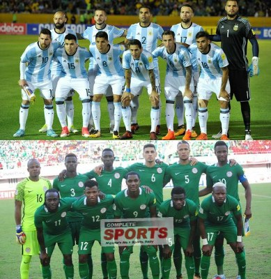 Argentina 5 – 1 Nigeria: ‎La Albiceleste Dominate Super Eagles Head-To-Head Ahead November 14 Friendly