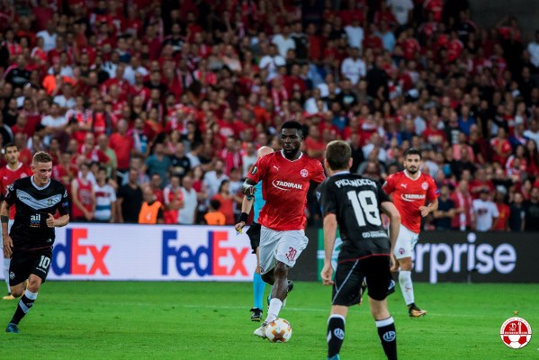 Ogu Promises More Goals For Hapoel Beer-Sheva, Eyes Europa Win