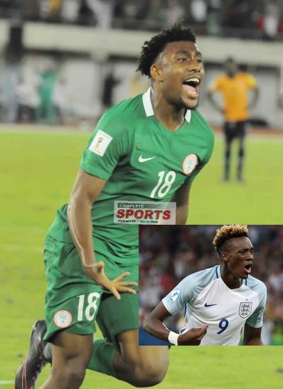 Iwobi: I'd Love To Convince Abraham To Make Nigeria Switch