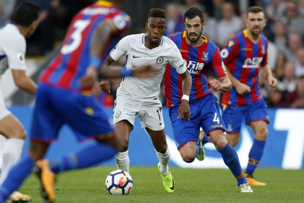 Moses Injured As Chelsea Lose To Palace; Abraham Bags Brace; City, Spurs Win