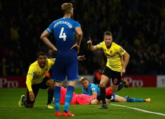 Iwobi In Action, Success Out As Watford Stun Arsenal