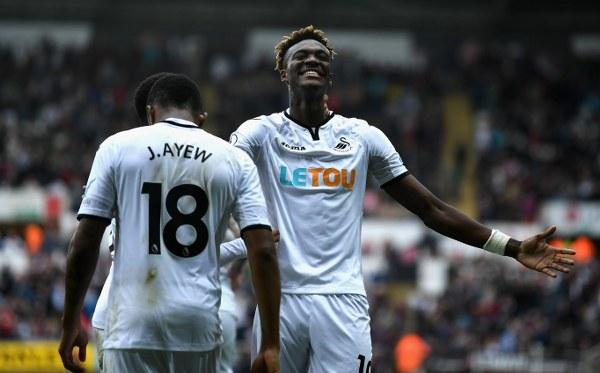 Swansea Manager Clement Praises Brace Hero Abraham