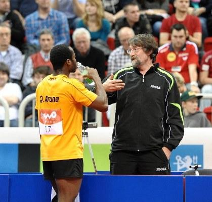German Coach Adomeit To Train Quadri For ITTF World Cup