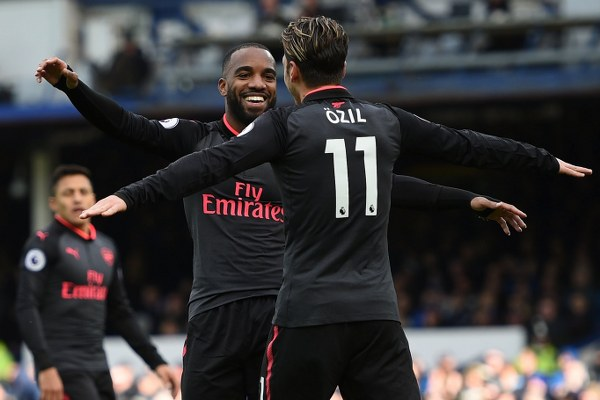 Wenger Hails Arsenal's Excellent ‎Passing, Movement In Comeback Win At Everton