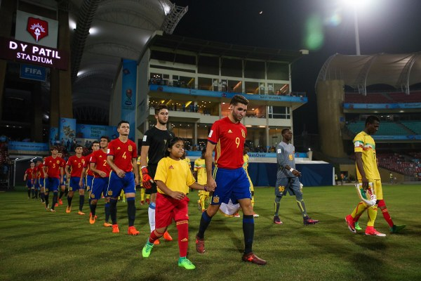 U-17 World Cup: Spain Outscore Mali, Set Up England Final