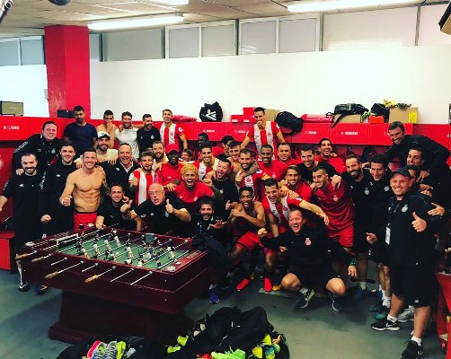 Kayode Subbed On As Girona Stun Real Madrid