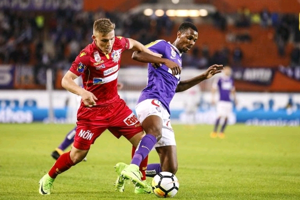 Alhassan Dedicates Goal To Fans, Vows Austria Wien Will Bounce Back