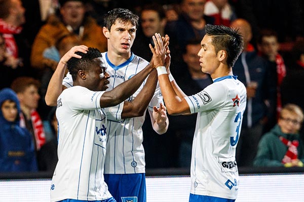 Simon Feels Disappointed Despite Scoring In Gent's Away Draw Vs Kortrijk