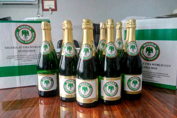 NFF Ready To Pop Champagne For Super Eagles World Cup Ticket