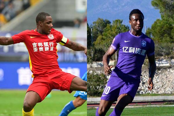 China: Ighalo Helps Changchun Win As Mikel Loses With Tianjin