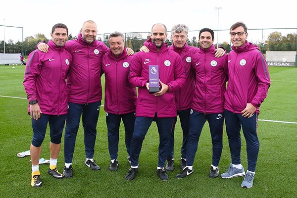 Guardiola Beats Mourinho, Wenger To September EPL Manager Of The Month