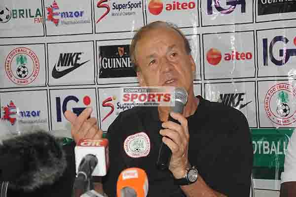 Rohr: Zambia Different From One Year Ago But Eagles Are Confident