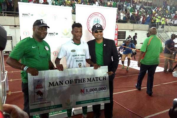 Nigeria 1 – 0 Zambia: Abdullahi Wins Man of The Match Award