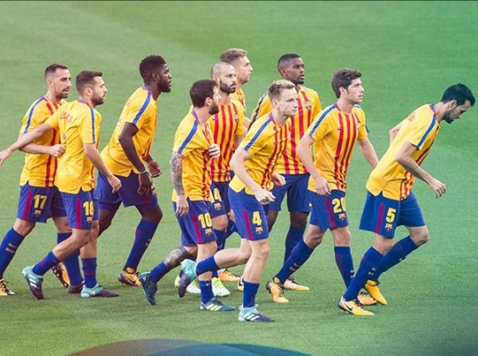 Barcelona Vs Las Palmas Played Behind Closed Doors Due To Catalonia Unrest