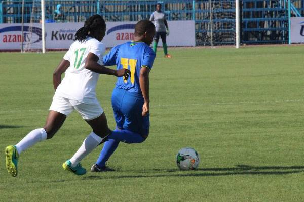 Falconets Dismantle Tanzania To Set Up Morocco U-20 WWC Tie