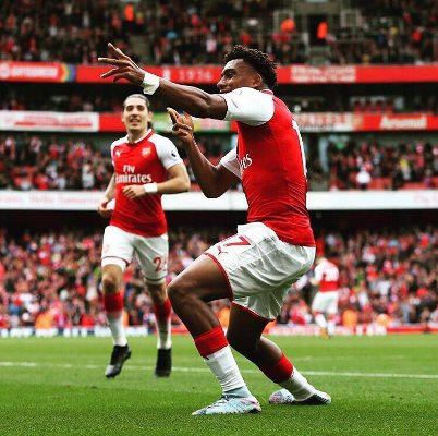 Iwobi Targets Top Four EPL Finish With Arsenal