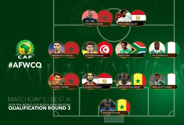 Moses, Abdullahi Named In World Cup Qualfiers Best XI
