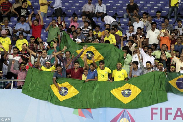 FIFA: One Million Fans Requested Tickets For England vs Brazil U-17 World Cup Semi-Final Clash