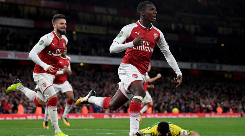 FACT CHECK: Nketiah's First Player Born After Wenger Arrival To Score For Arsenal