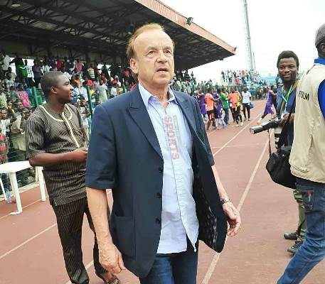Rohr To Land In Nigeria Saturday, Set For CAF Awards In Accra
