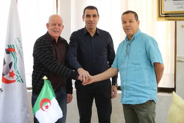 Algerian FA Unveils Ex-Desert Foxes Coach Saadane As Director Of National Teams