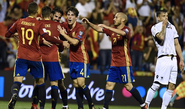Spain Maul Albania To Bag World Cup Ticket; Italy Held By Macedonia, Go For PlayOffs