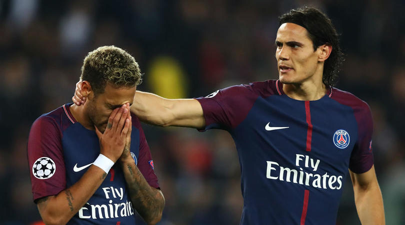 Cavani Clarifies Relationship With Neymar, Claims They're Just Teammates, Not Friends