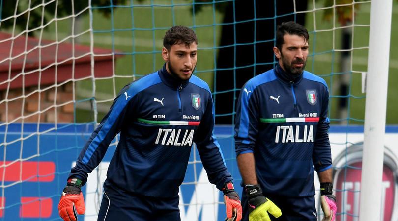 Buffon Anoints 'Extra-ordinary' Donnarumma As Successor To Italy Gloves