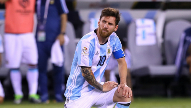 Argentina Coach Sampaoli Claims Teammates Letting Messi Down In Troubled World Cup Qualifying Campaign