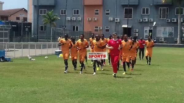 Zambia Train, Strategize At Marcel Desailly Sports Complex Accra Ahead Nigeria Clash