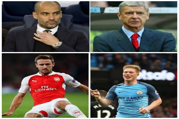 Wenger, Guardiola, Pochettino, De Bruyne, Monreal Up For EPL October Manager, Player Awards