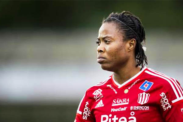 Super Falcons Star Ikidi Extends Contract With Swedish Club Pitea