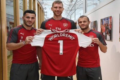 Arsenal Sign Partnership Deal With  Online Money Transfer Company WorldRemit